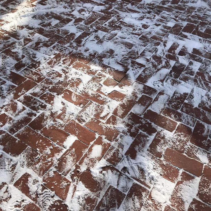 Snow on herringbone. I hope it melts next week. Been a while. . . #chillout #thawiscoming #s&h #boston #cityhallpavers #mason #masonry #construction #patio #walkway #outdoorliving #backyard #capecod #hardscape #landscape #landscaping #dowork