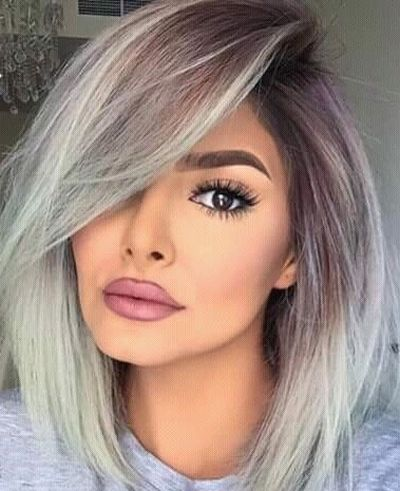 Gray Hairstyles Brilliant 37 Best Graysilver Hair Images On Pinterest  Gray Hair Going Gray
