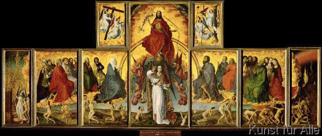 Rogier van der Weyden - Das Jüngste Gericht