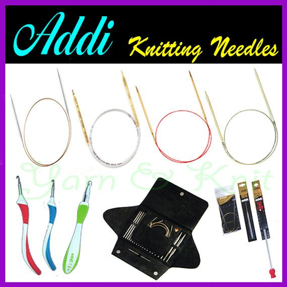 Addi Knitting NeedlesCircular Knitting Needles by YarnNknitcom, $15.50