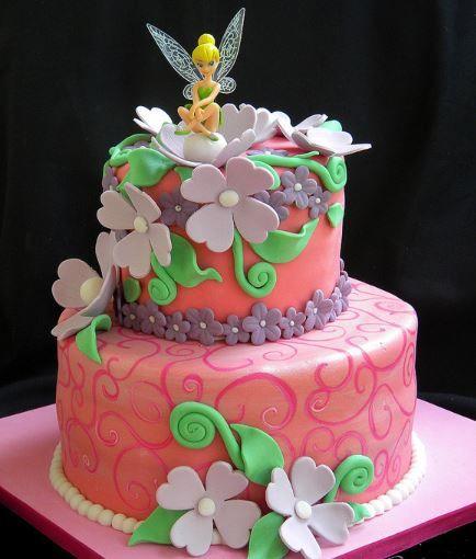 Tinker Bell Cake For 3rd Birthday