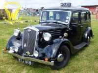 1937 Wolseley Series III 12/48. Well worth joining the police for.