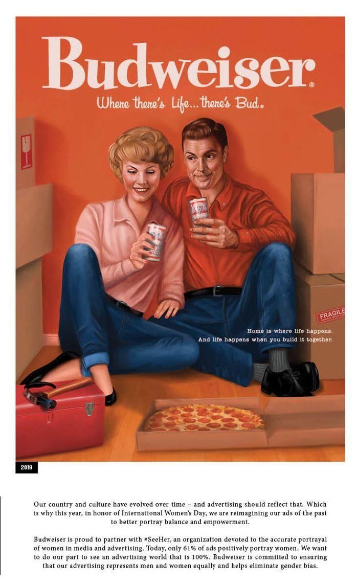 sexist ads 50s