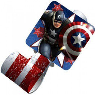 Captain America Party Supplies, Captain America Blowouts