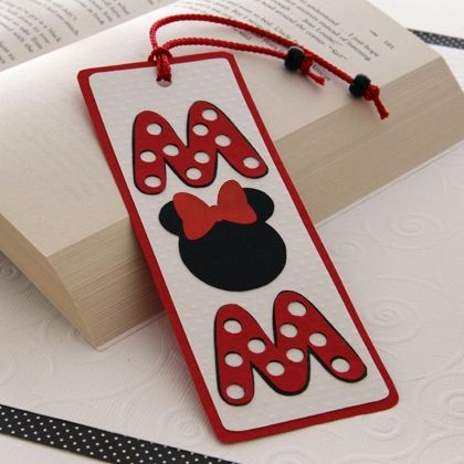 Minnie's Mother's Day Bookmark
