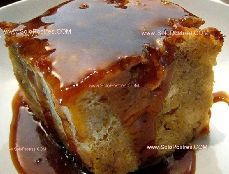 Budín de pan rápido y simple