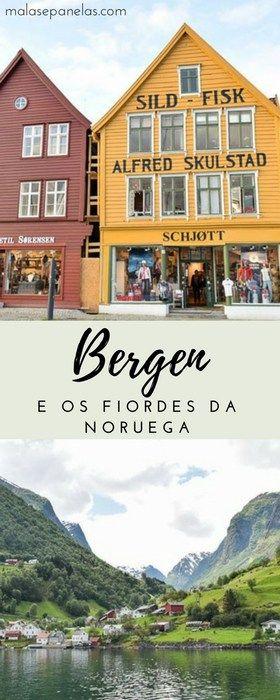 Bergen e os Fiordes da Noruega | Malas e Panelas #noruega #bergen #fiordes