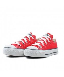 Converse Shoes Red Chuck Taylor All Star Classic Low
