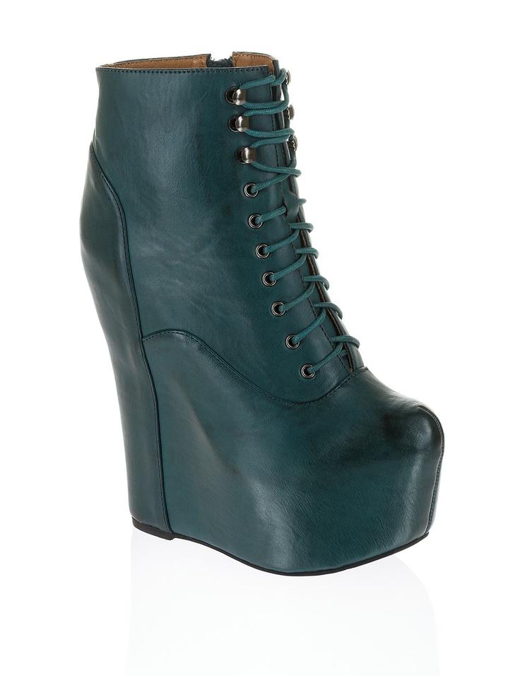 Jeffrey Campbell Damsel dunkelblau   Ankle Boots & Stiefeletten   HUMANIC Schuhe Online Shop   1-63-36-0156-8