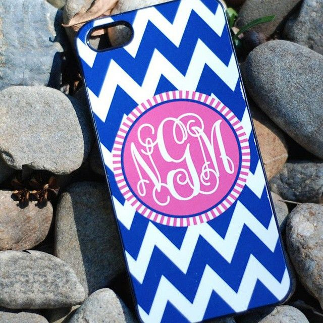 Ring, ring... Who's there? Monogrammed Cell Phone Cases, duh!