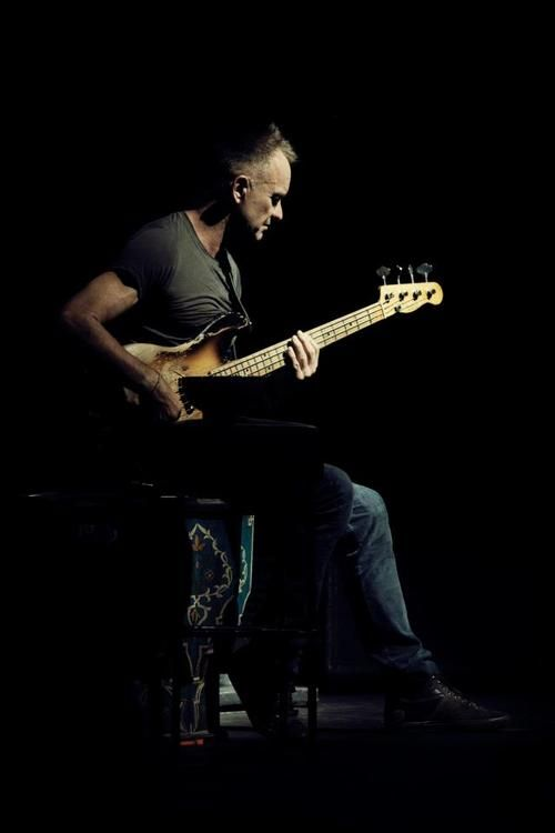 Sting ... saw him with the reformed Police a while back and also as a solo performer ... both times at the Hollywood Bowl