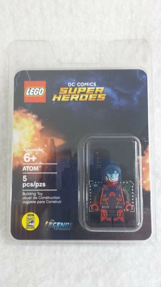 Lego SDCC ATOM Ray Palmer Minifigure DC Legends of Tomorrow fig