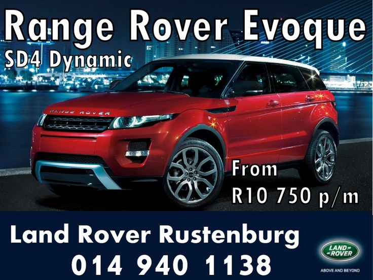 Land Rover Evoque Special , LAnd Rover Rustenburg