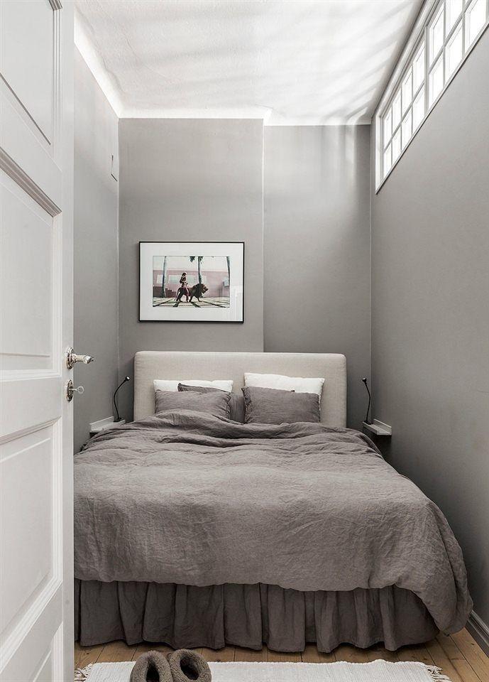 25 Ideen Fur Kleine Schlafzimmer Die Stilvoll Und Platzsparend Aussehen Aussehen Die Fu Au Small Apartment Bedrooms Remodel Bedroom Very Small Bedroom