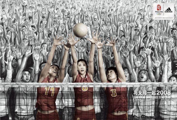 Adidas JO Pékin - Volley Ball