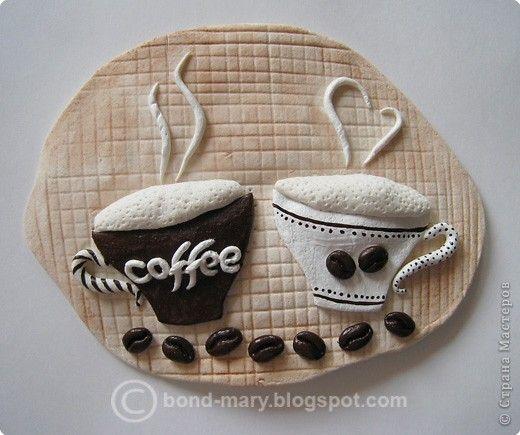 Лепка Сувенир для кофеманов лепка Тесто соленое фото 1