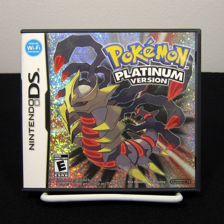 Pokemon Platinum Version (Nintendo DS, 2009) Complete & Tested | eBay