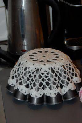 Att göra en skål av en virkadduk - Blogg - Mönster på virkat och stickat - Crochetra