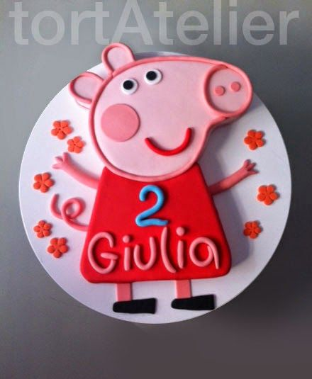 Watch Peppa pig cartoons full episodes: 18 Cakes made from the Peppa Pig character - You'll love them !