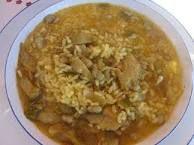 Resultado de imagen de arroz con habas con vaina