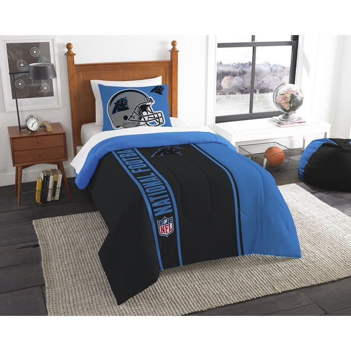 Carolina Panthers NFL Twin Comforter Bed In A Bag Soft U0026 Cozy X 8