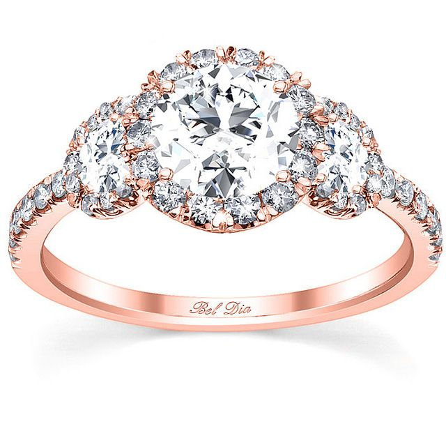 Oval Engagement Rings Rose Gold