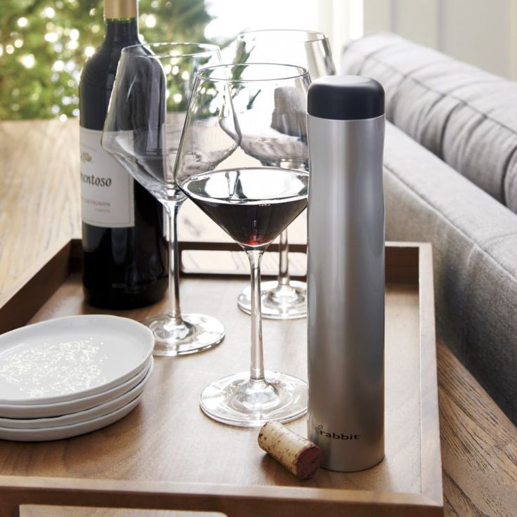 Rabbit ® Automatic Electric Corkscrew | Crate and Barrel