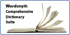 Wordsmyth OnLine THESAURUS/Dictionary   Select; Beginner's, Children's, Advanced. Also create vocabulary tests that can be printed or taken online