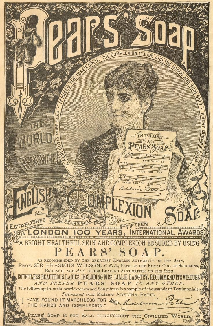 Vintage bathroom ads - Knick Of Time Antique Graphics Wednesday 1800 S Advertisements