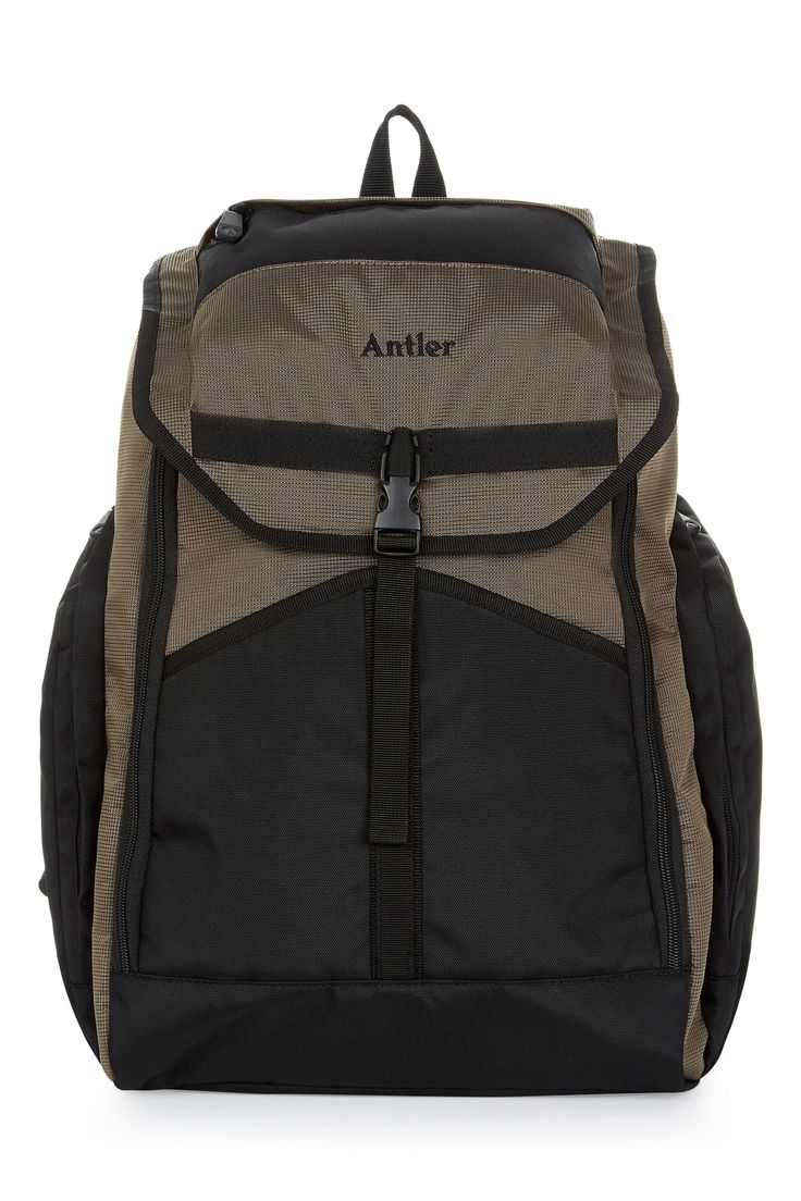 Antler Tundra khaki backpack, Khaki on sale in the UK along with best deals on many other designer bags and luggage