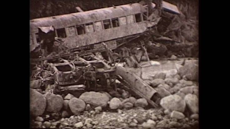 Tangiwai Disaster - Auckland Museum