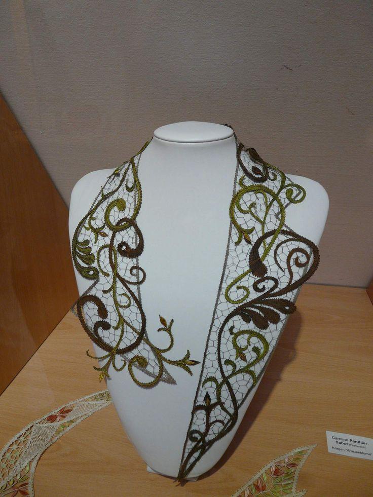 Bobbin lace. Dresden july 2013