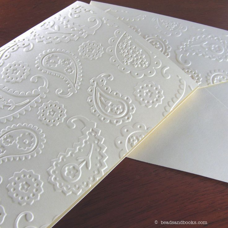 handmade wedding cards ireland%0A Paisley Cards    Elegant Handmade Cards with Flowers