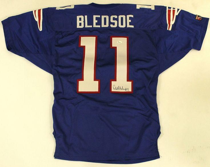 promo code 8595e ef3bb 11 drew bledsoe jersey ornament