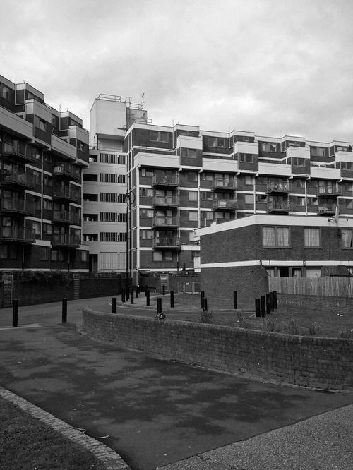 Nightingale Estate, Hackney, London, GLC Architects, 1968-1971 Photo: Simon Phipps