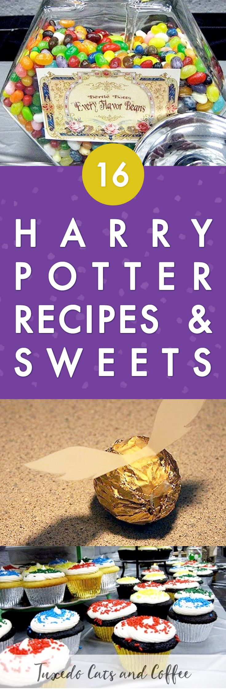 Holding a Harry Potter themed party is a very worthwhile, memorable experience. If you want it to be truly amazing, you're going to put in a lot of time, but from holding my own Harry Potter event I can say it's definitely worth the commitment. Here are a bunch of Harry Potter recipes and sweets ideas. #harrypotter #harrypotterparty #harrypotterideas #harrypotterdesserts #harrypotterrecipes #harrypotterfood