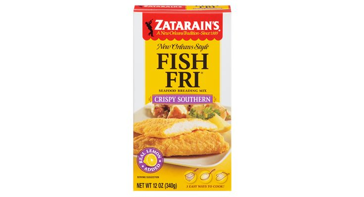 Creole Mustard Battered Catfish | Recipes | Zatarain's® Recipe | McCormick