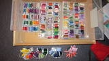 Organise embroidery threads - after