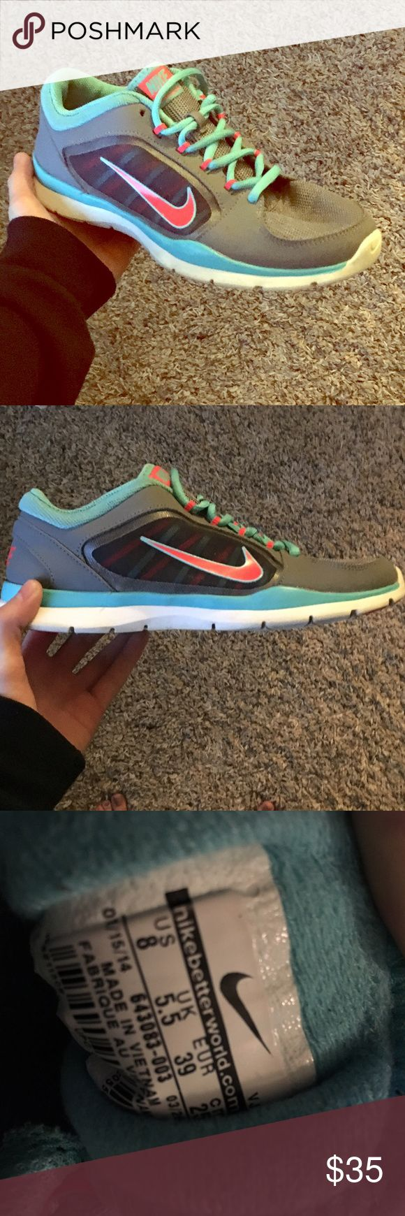 Nike Training shoes Size 8 in woman's, great condition Nike Shoes Athletic Shoes