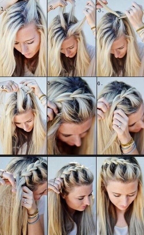 Admirable 1000 Ideas About School Hair On Pinterest Hair Easy School Short Hairstyles Gunalazisus