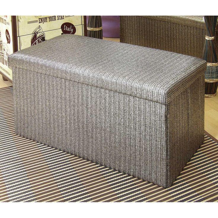 74 best images about muebles auxiliares on pinterest - Puff de mimbre ...