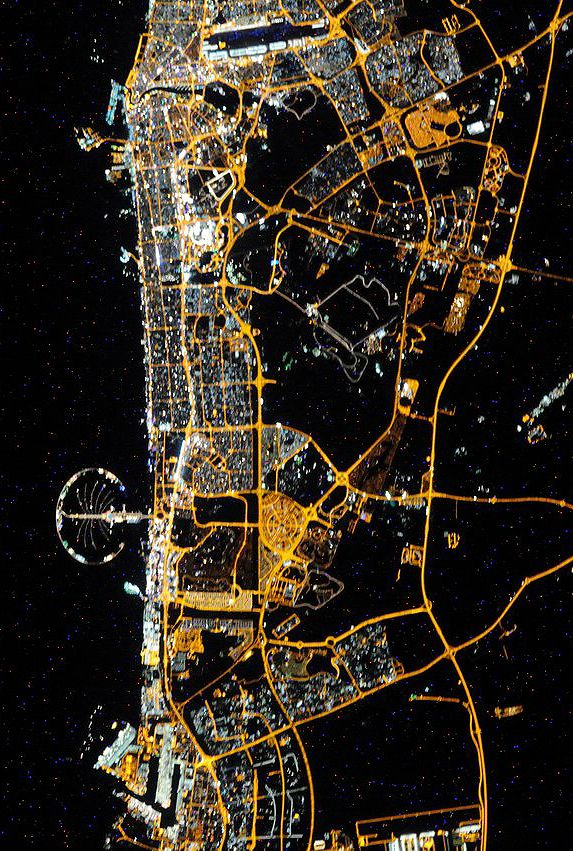 Dubai from space 818 best UAE images