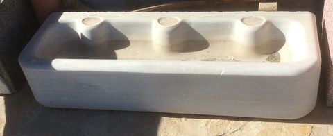 Lavabo antiguo de mármol macael - anticuable.com – Anticuable