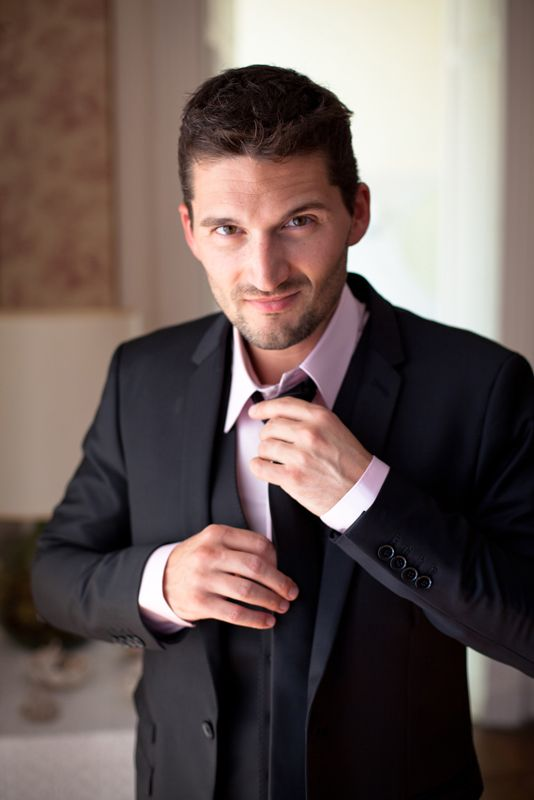 http://thisdayforward.com.au/  Photographer wedding France, suit, groom