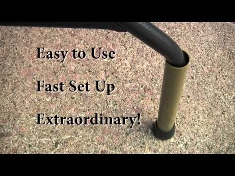 Sure Legs Table Extenders - YouTube