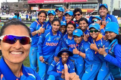 bluecricketin.com: indian women's cricket team win pakistan by 95 run...
