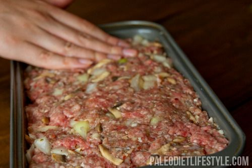 Paleo Meat Loaf With Mushrooms | Paleo Diet Lifestyle- i always sub ...