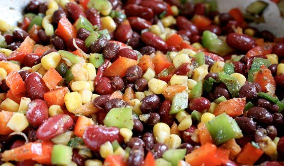 mexican-bean-salad maximized living style: Mexicans Salad, Side Dishes, Salad Recipes, Black Beans, Families Recipes, Beans Salsa, Mr. Beans, Favorite Recipes, Mexicans Beans Salad