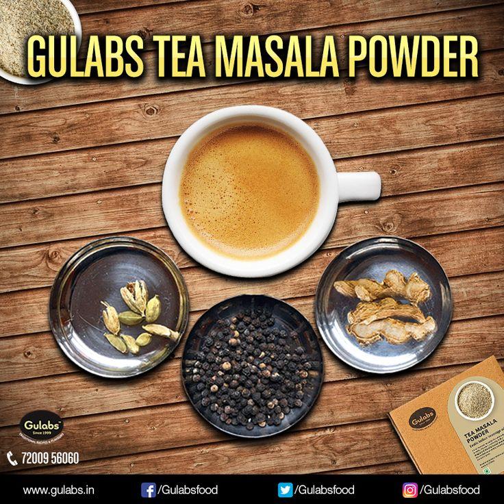 For the 'Asli Kadak Chai'..Buy Gulabs #TeaMasalaPowder !!  #gulabs #tea #drinklocal #chai
