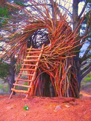 "Spend the night in this ""spirit nest"" at Treebones resort in Big Su..."